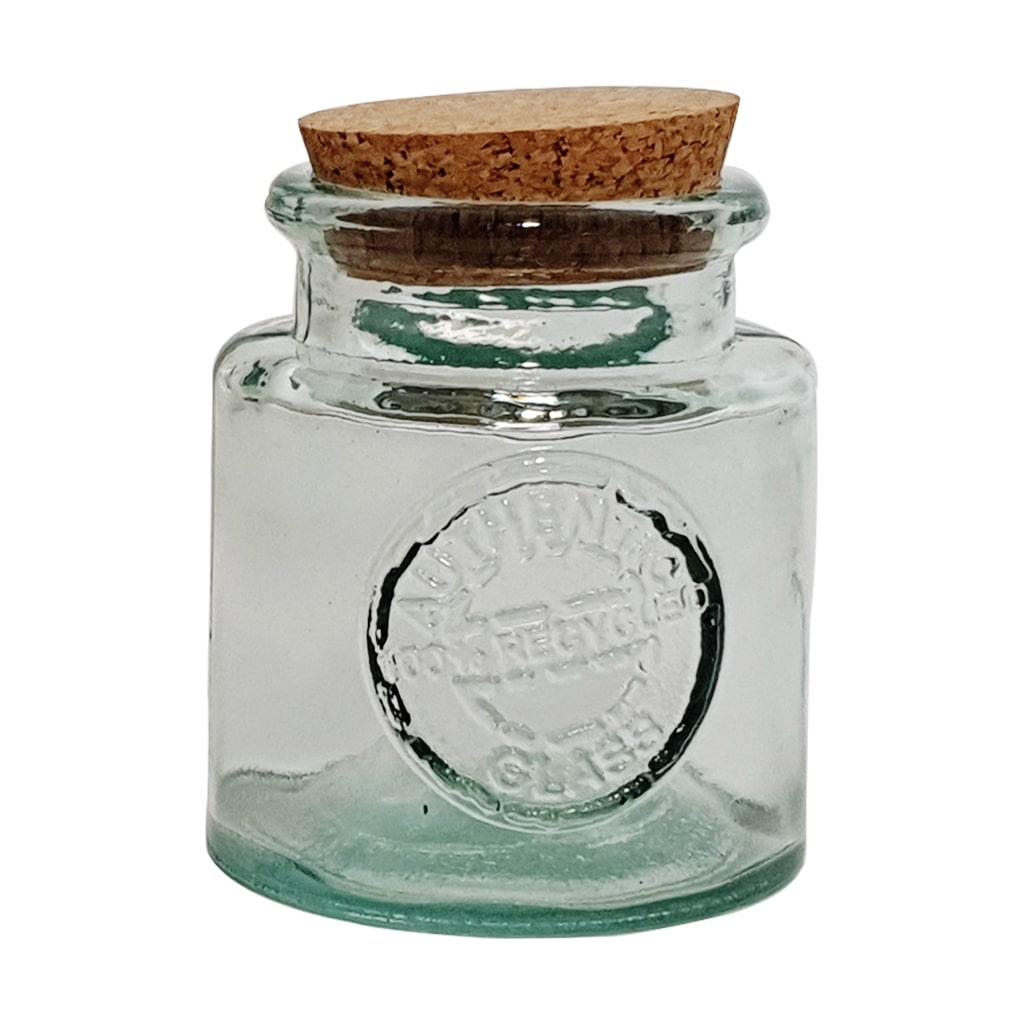 250 ML Recycled Round Glass Jar
