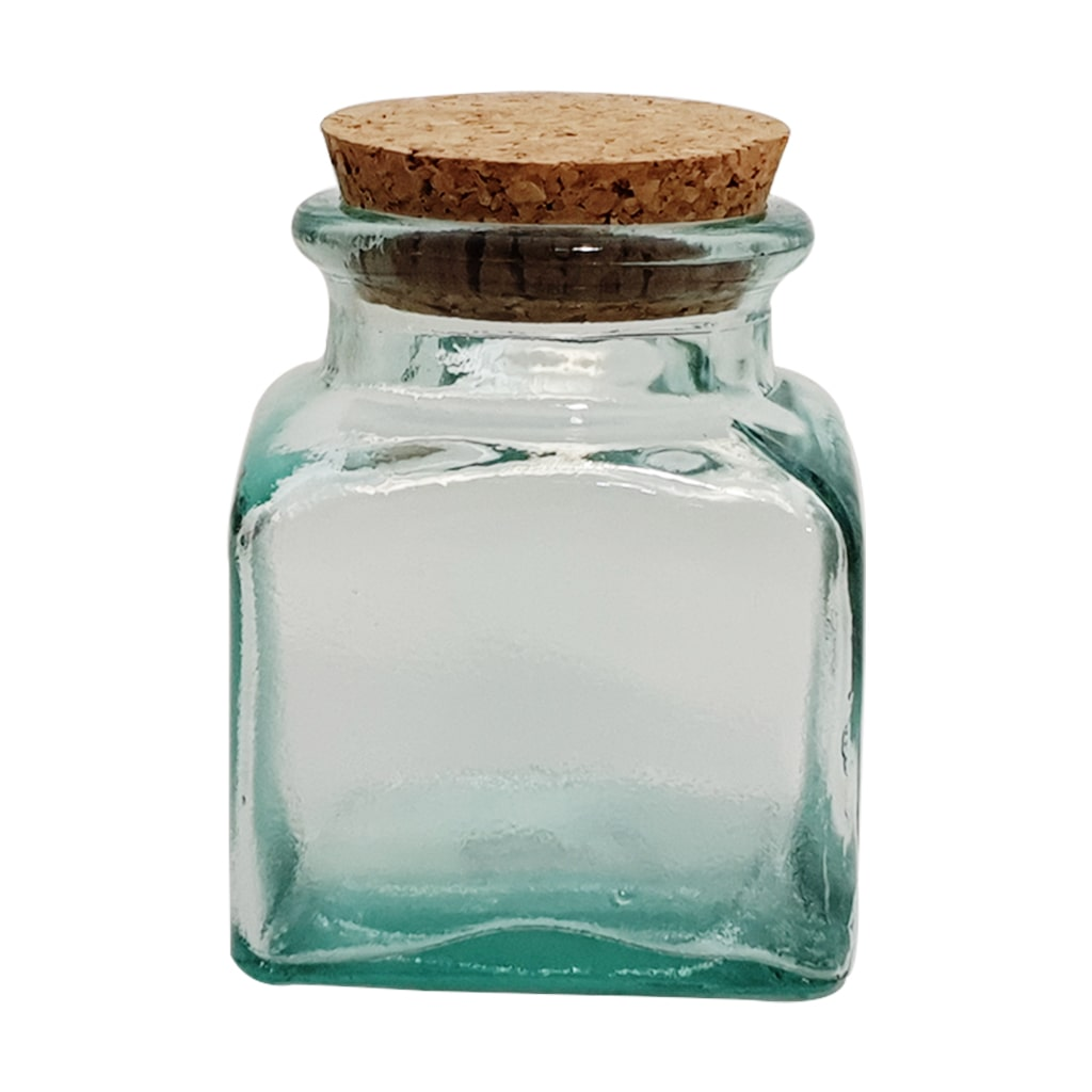250 ML Recycled Square Glass Jar