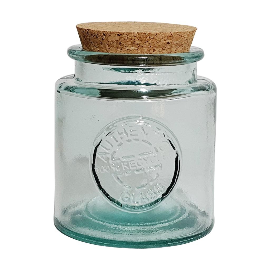 500 ML Recycled round Glass Jar