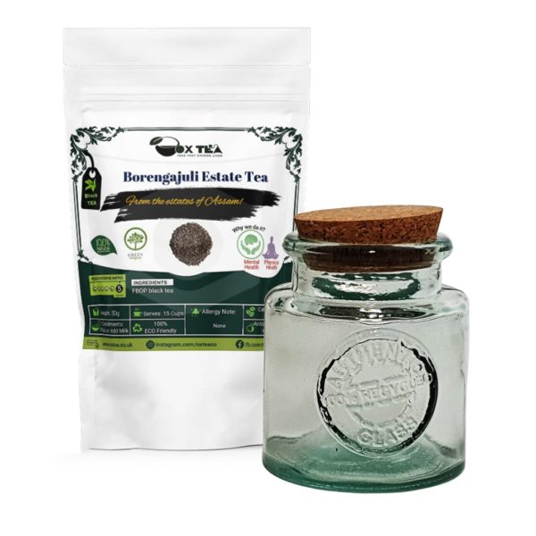 Borengajuli Estate Tea With Glass Jar