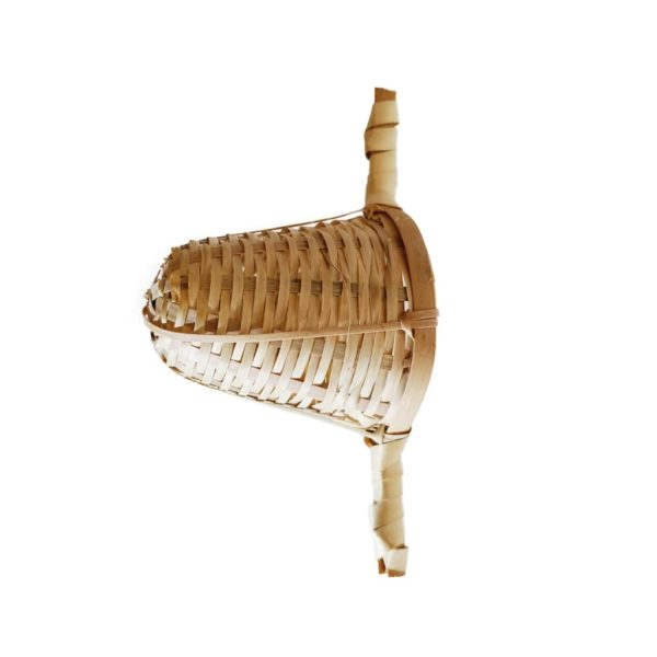 Two Handed Bamboo Strainer