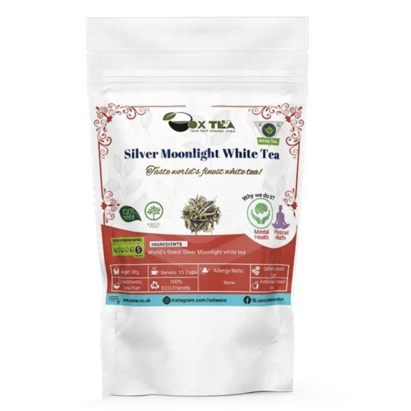 Silver Moonlight White Tea Pouch