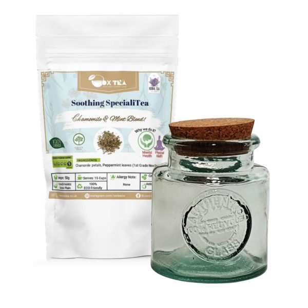 Soothing SpecialiTea With Glass Jar