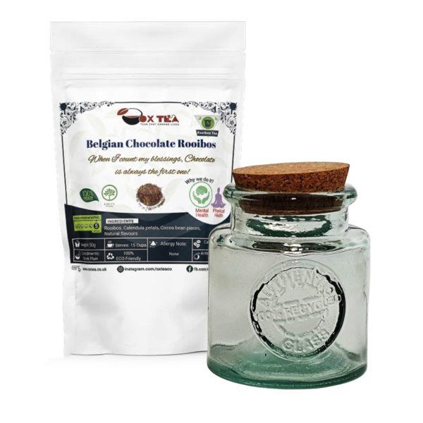 Belgian Chocolate Rooibos With Glass Jar