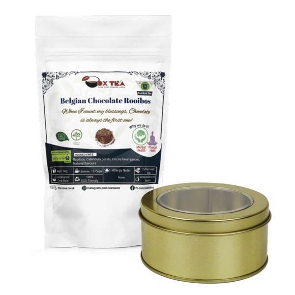 Belgian Chocolate Rooibos With Tin Box