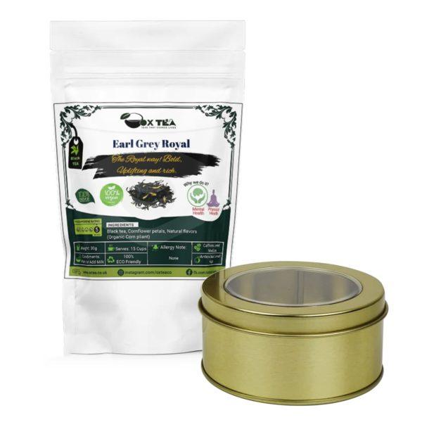 Earl Grey Royale Black Tea With Tin Box