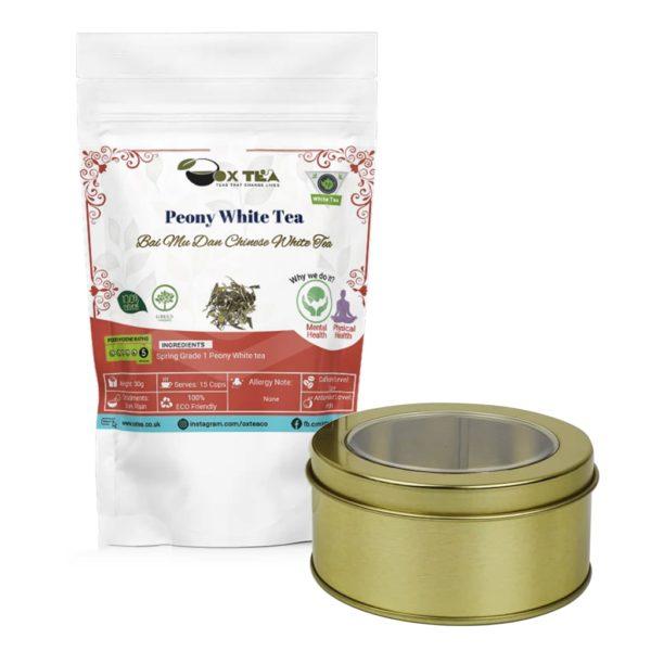 Peony White Tea With Tin Box