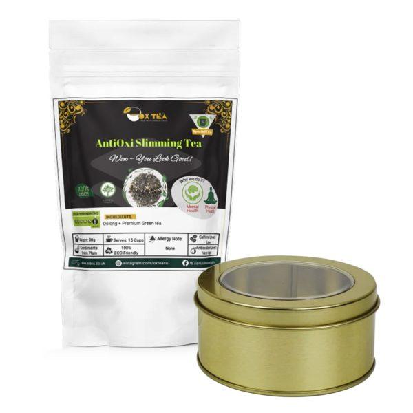 AntiOxi Slimming Tea With Tin Box