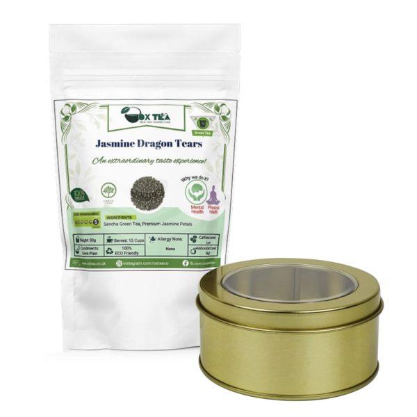 Jasmine Dragon Tears Tea With Tin Box