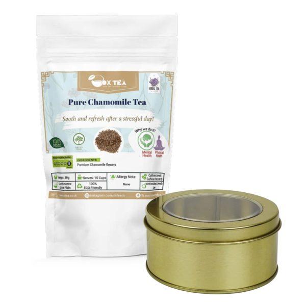 Pure Chamomile Tea With Tin Box