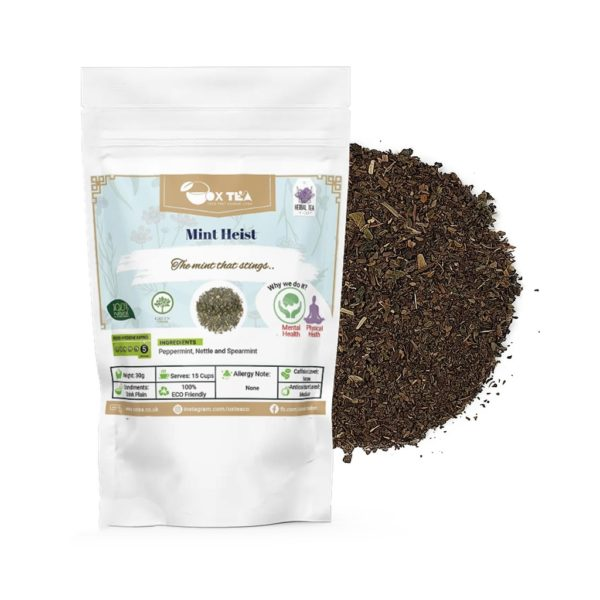 Mint Heist Green Tea With Pouch