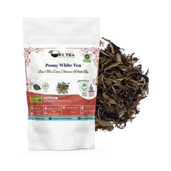Peony White Tea With Pouch
