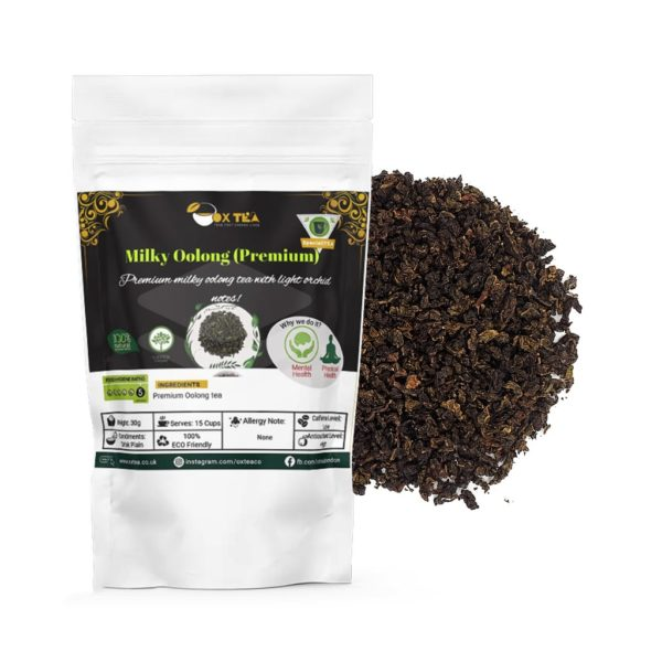 Milky Oolong Tea Loose With Pouch