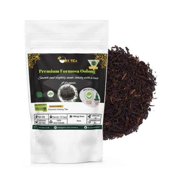 Formosa oolong loose tea with pouch