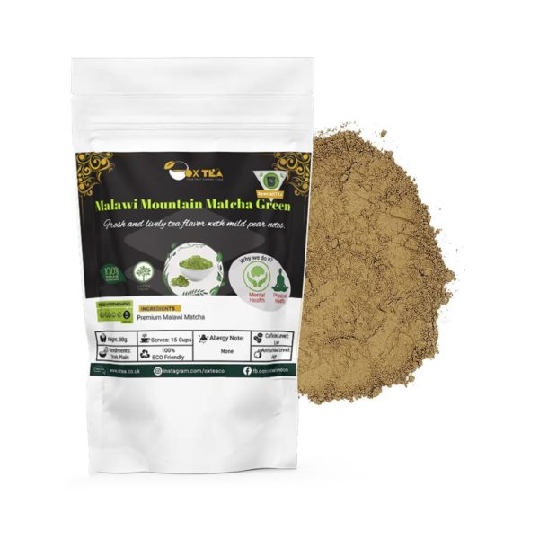 Mountain Matcha Green Tea With Pouch