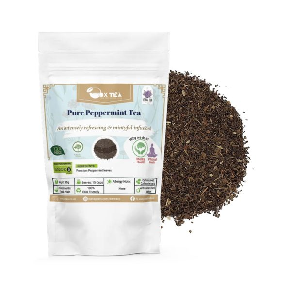 Pure Peppermint Loose Tea With Pouch
