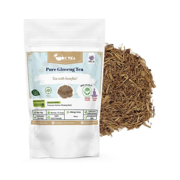 Pure Ginseng Loose Tea With Pouch
