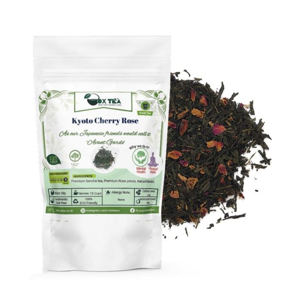 Kyoto Cherry Rose Green Tea With Pouch