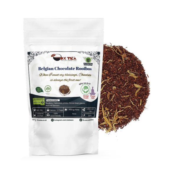 Belgian Chocolate Rooibos With Pouch