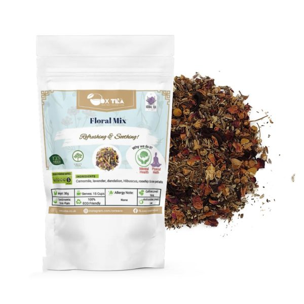 Floral Mix Herbal Tea With Pouch