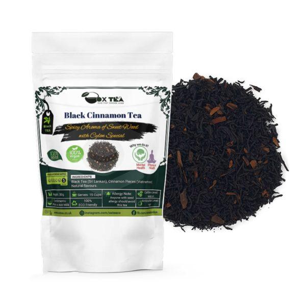 Black Cinnamon Tea With Pouch