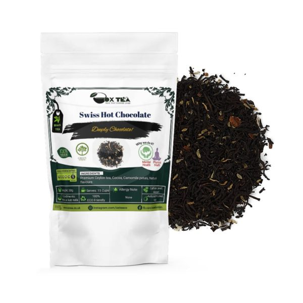 Swiss Hot Chocolate Black Tea With Pouch