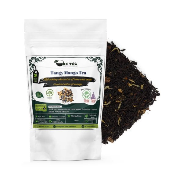 Tangy Mango Tea With Pouch
