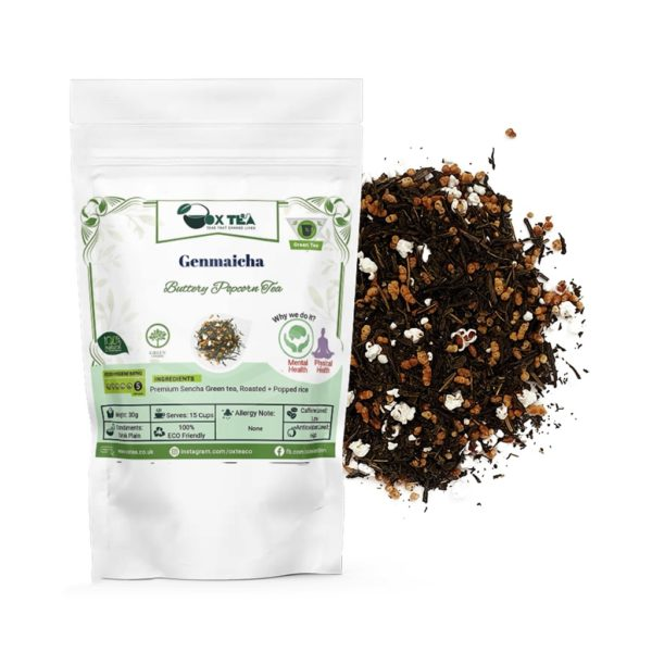 Genmaicha Green Tea With Pouch