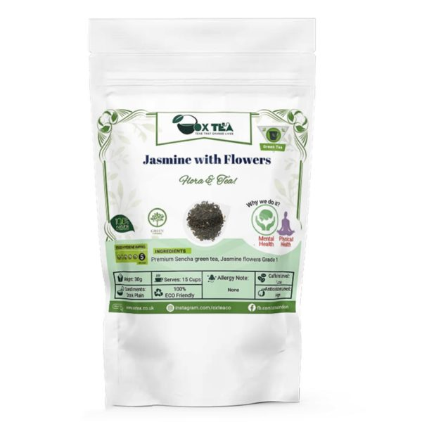 Jasmine with flowers Green Tea Pouch