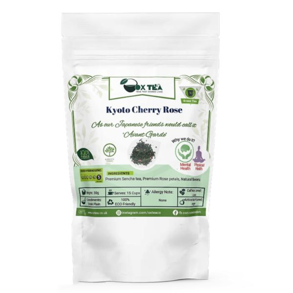 Kyoto Cherry Rose Green Tea Pouch