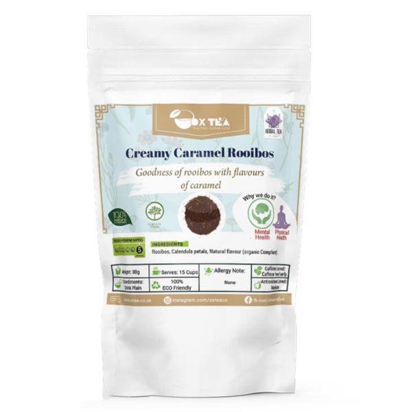 Creamy caramel Rooibos Pouch