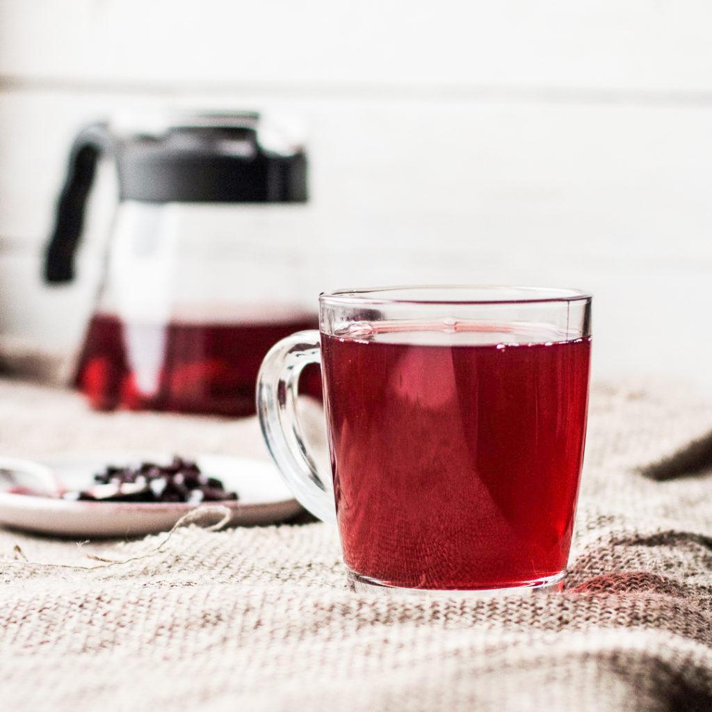 Steeping Black Tea