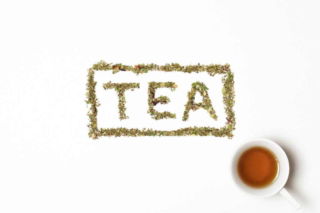 TEA DEHYDRATES YOU