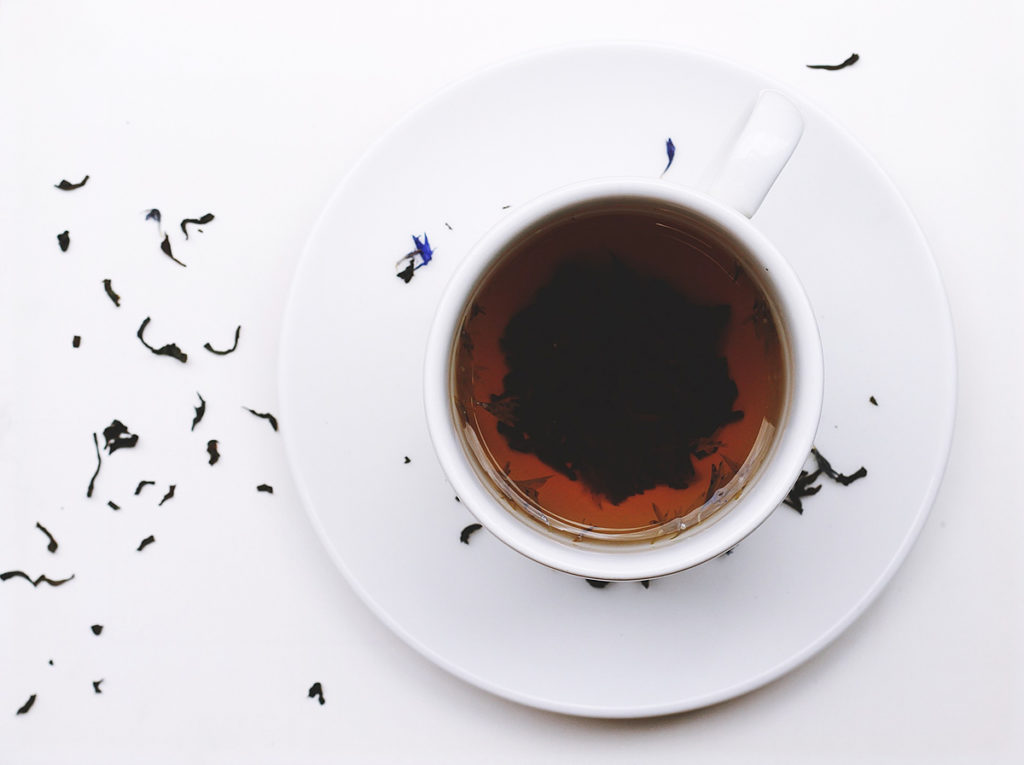 The history of the black tea