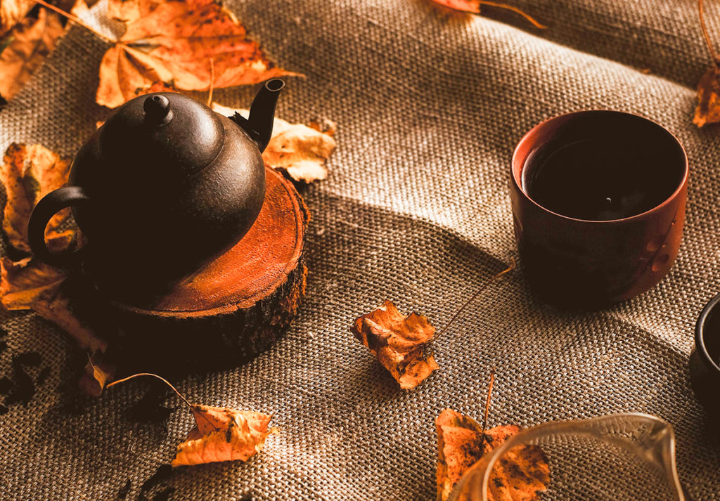 How does the Lapsang Souchong process?