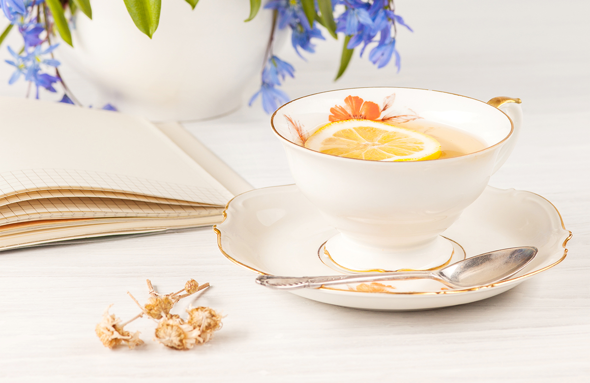 Brewing a perfect cup of herbal tea