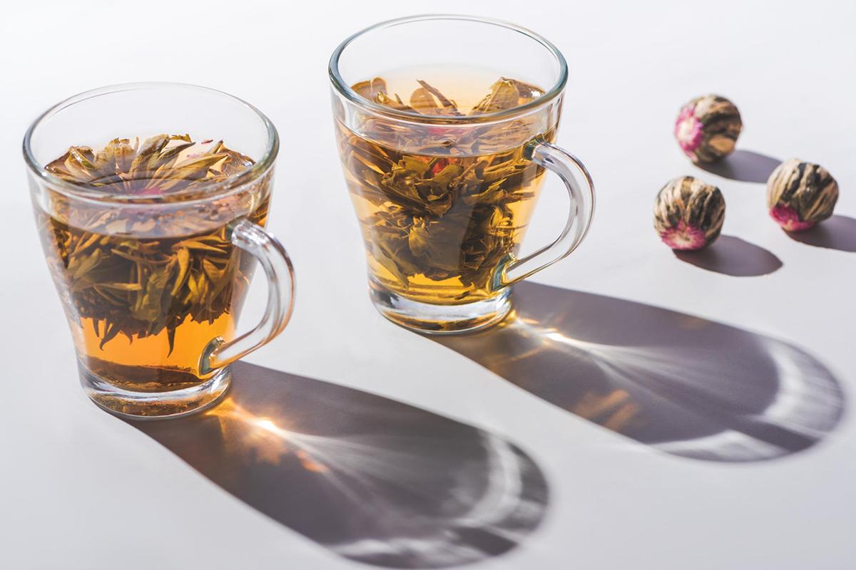 History of Flowering Tea