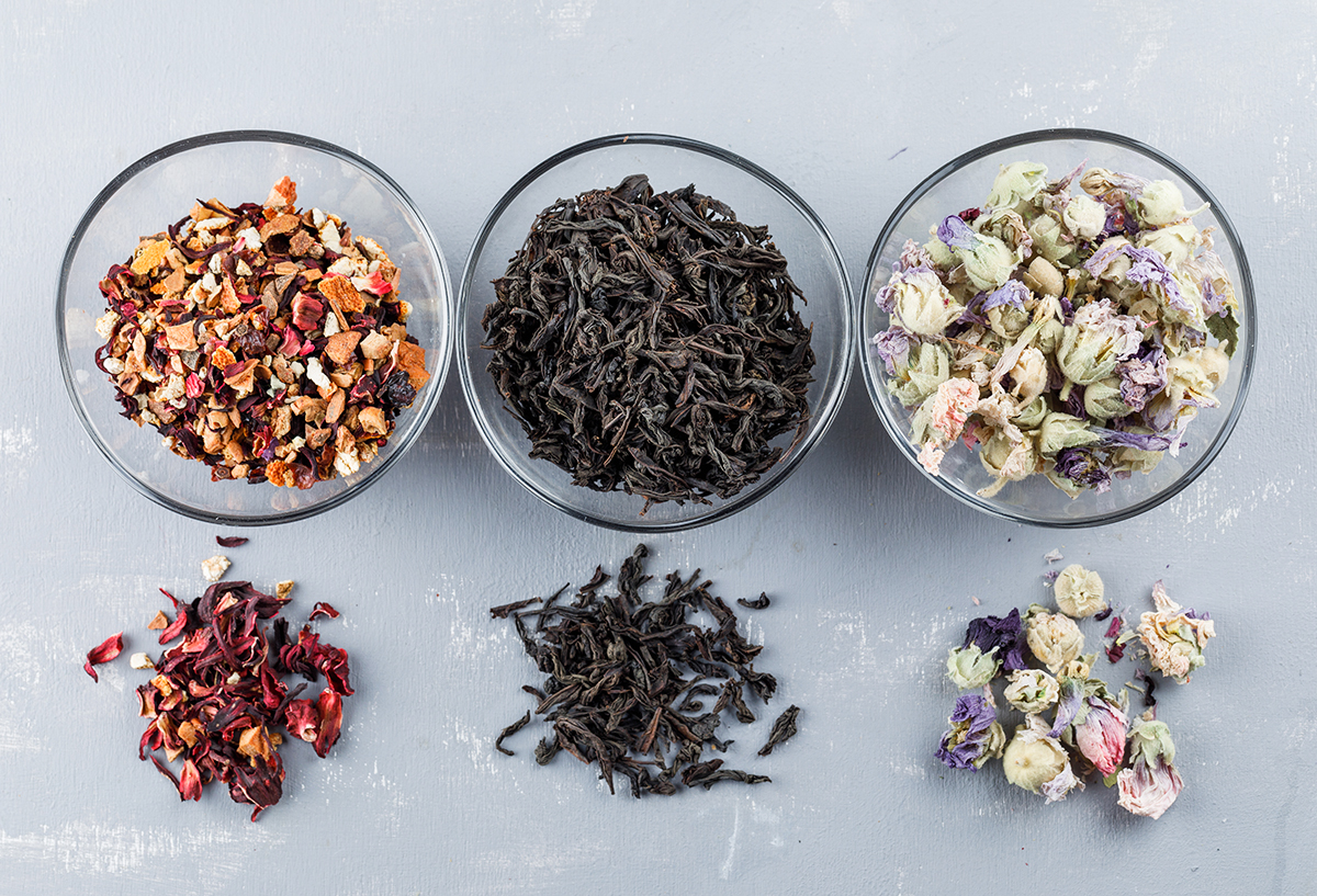 Storing tea