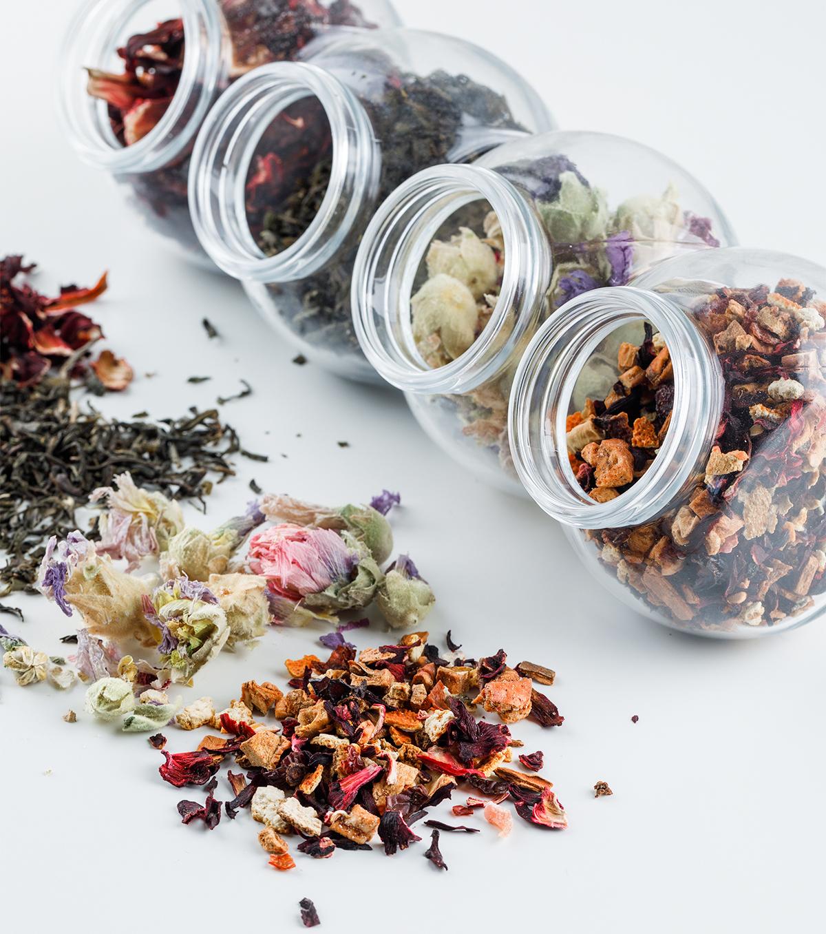 Storing tea at Home