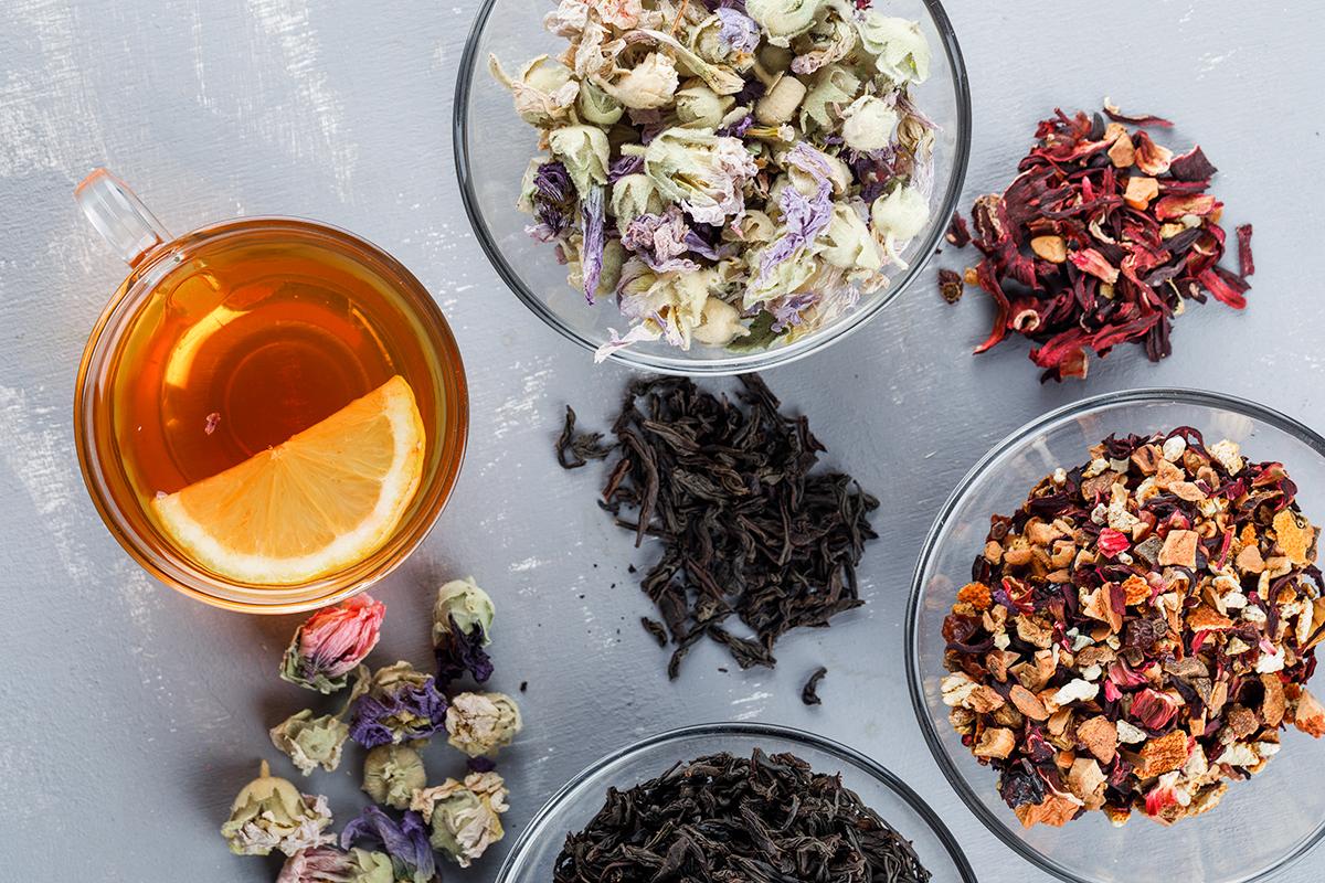 TEMPERATURE CONDITIONS FOR STORING TEA