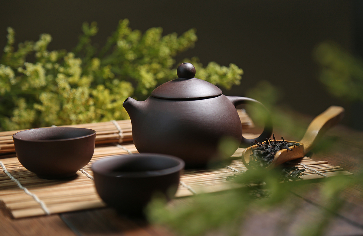 TEA IS USED FOR RELAXATION AND SPIRITUAL PRACTICES