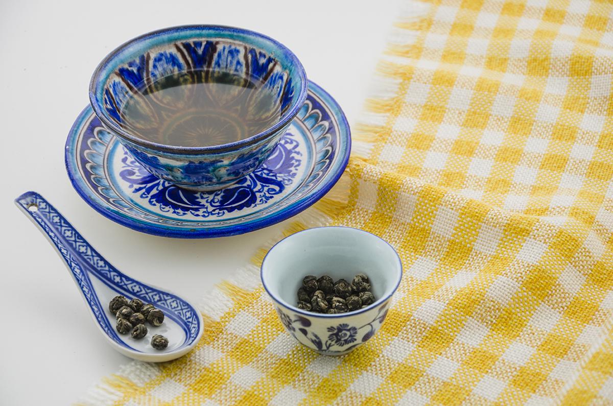 Jasmine Dragon Pearls green tea