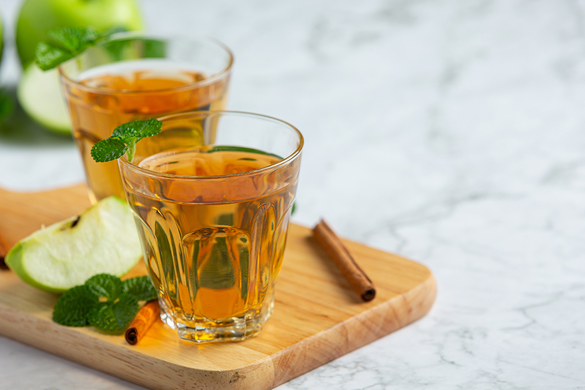 How does tea promote a healthy lifestyle?