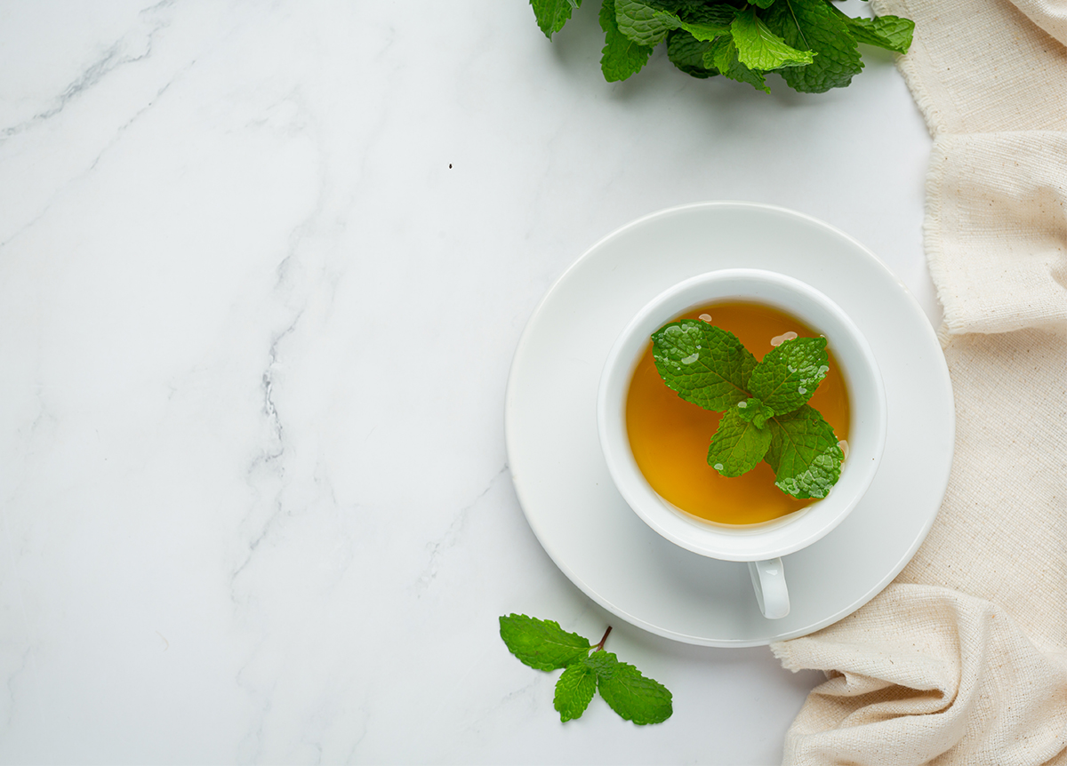Peppermint tea helps to lose weight