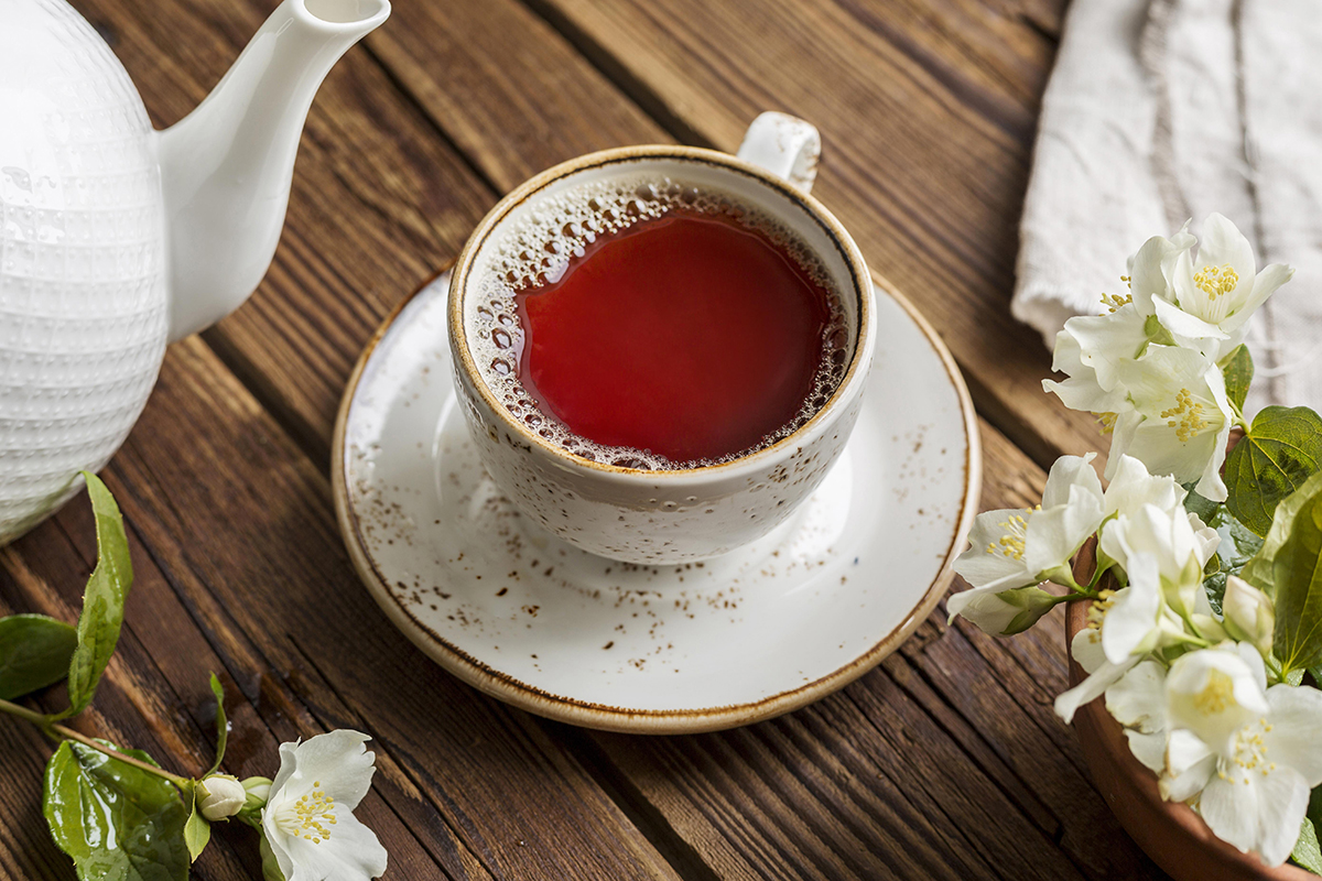 Rooibos tea helps to lose weight