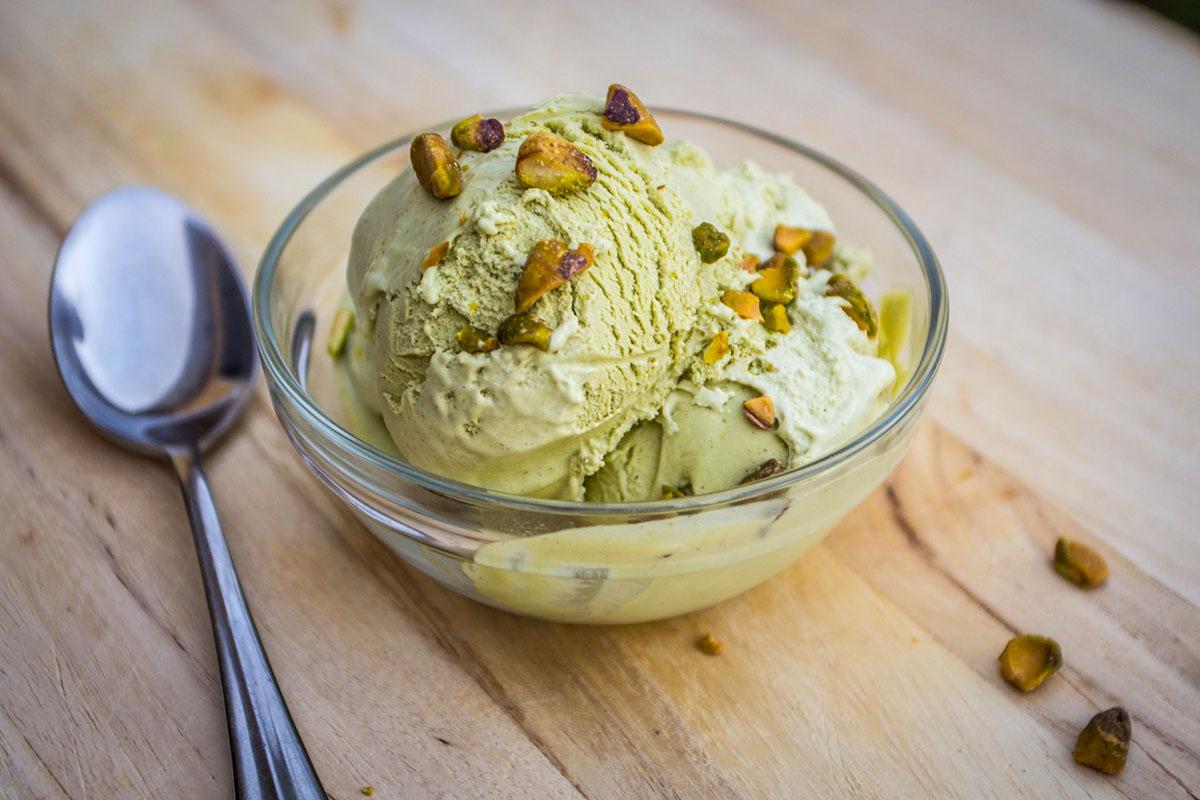 How to make matcha ice cream