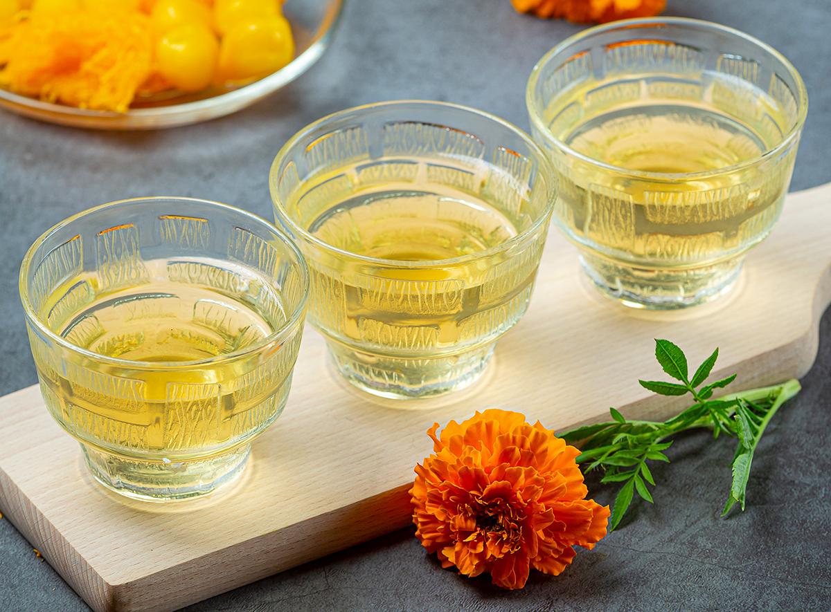 Health Benefits Of Calendula Tea