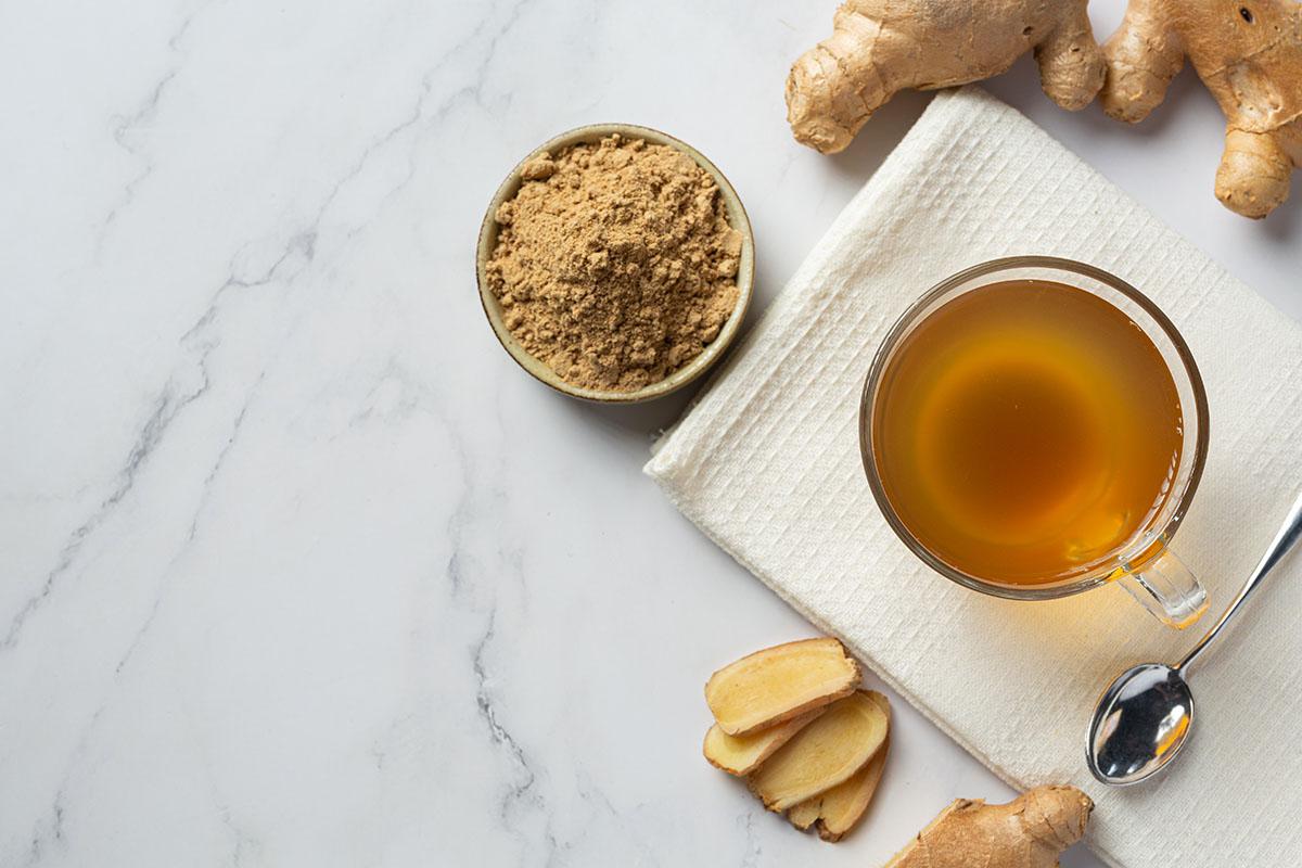 Hot Ginger Tea