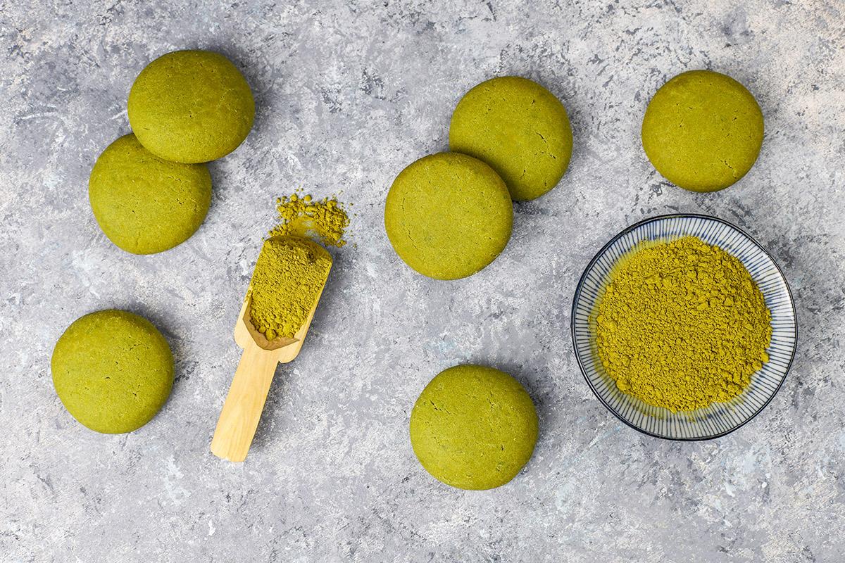how to make matcha cookies