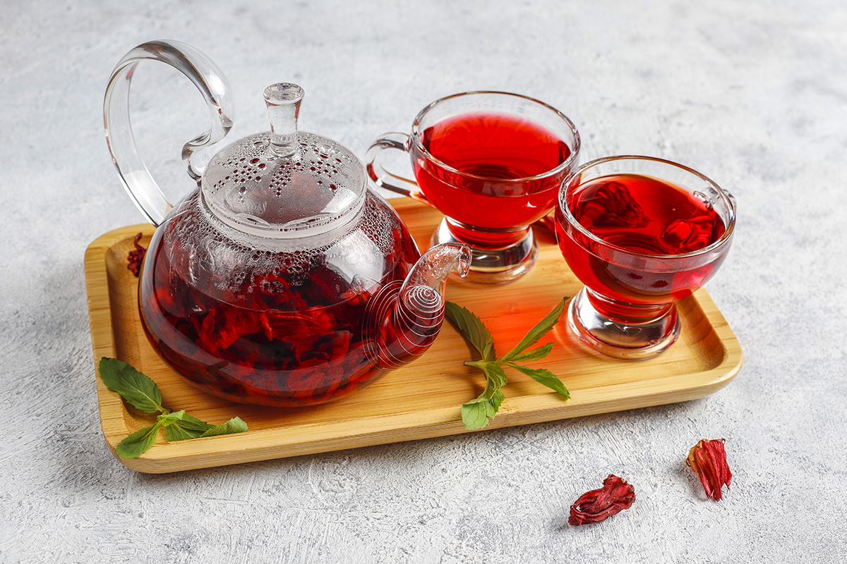 healthy Hibiscus Tea
